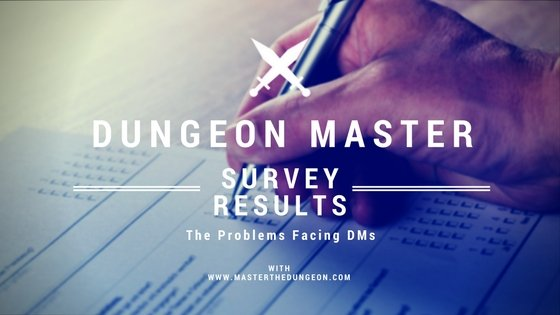 Dungeon master survey results