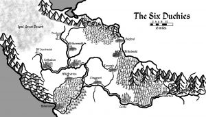halflingcaravan map