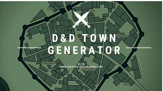 D&D Town Generator - Master The Dungeon