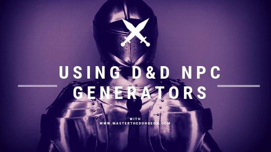 D&D NPC Generators
