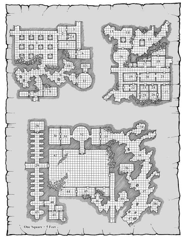 D&D Map - Wizards Archive