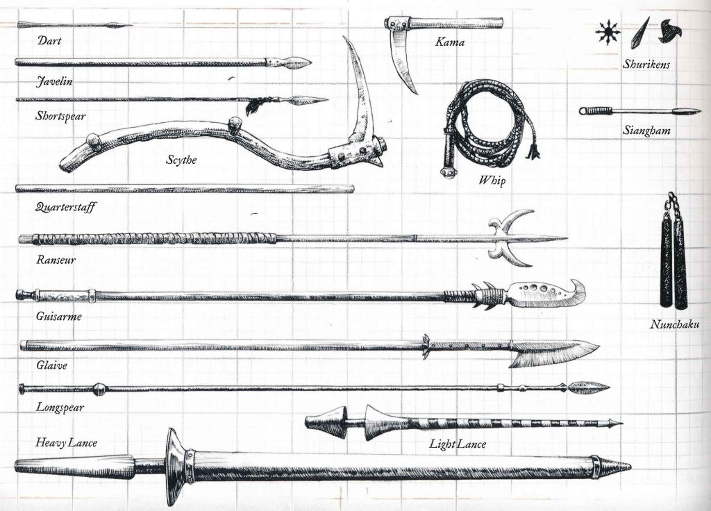 DND Reach Weapons