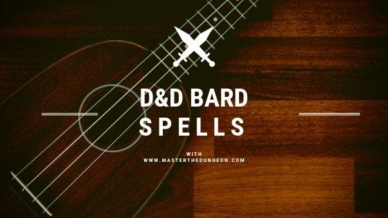 DnD Bard Spells