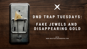 fake jewels and disappearing gold