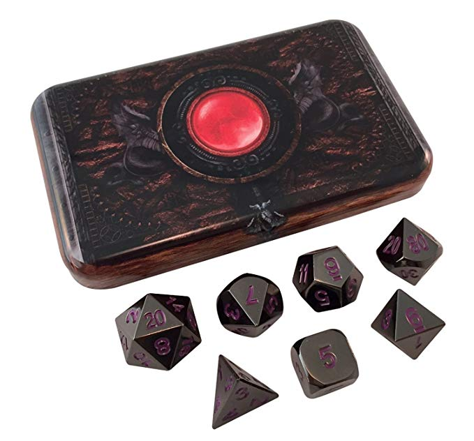 Skullsplitter Dice and Case