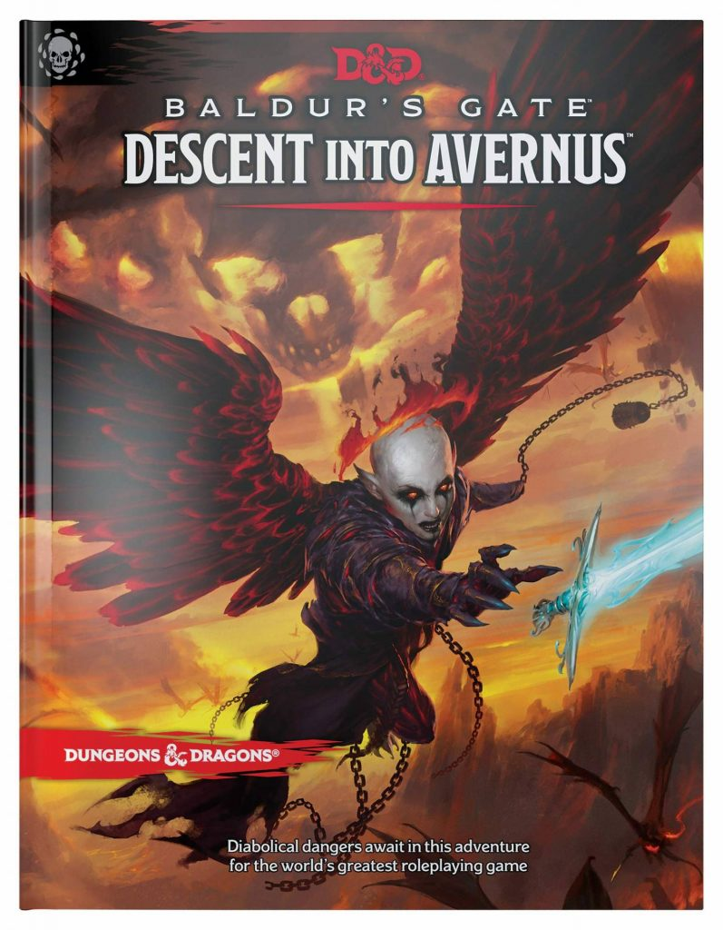 DnD Baldurs Gate Descent Into Avernus Cover