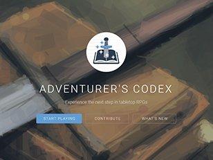 A D D 5e Online Tool Adventurer s Codex
