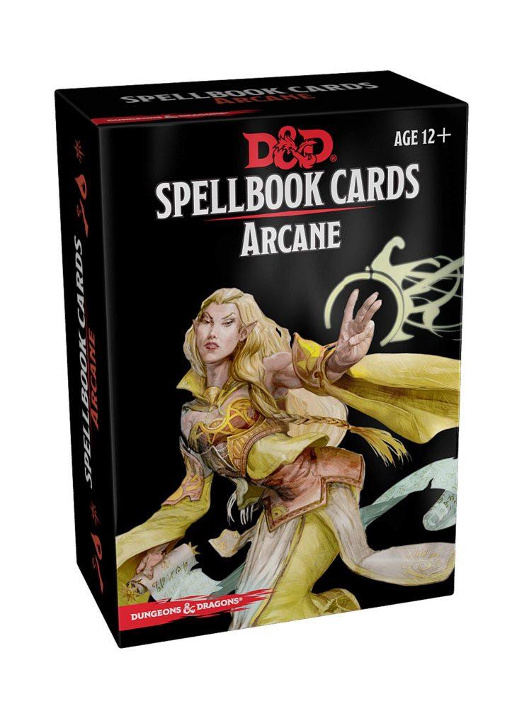 Arcana Spell Cards