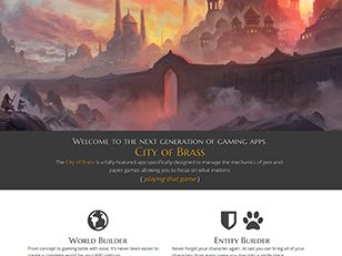 City of Brass Welcome