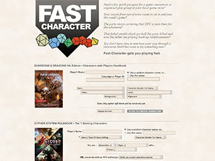 Fast Character