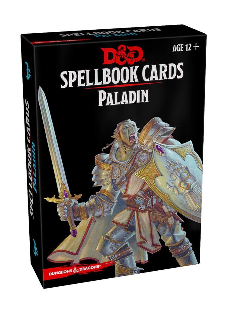 Paladin Spell Cards