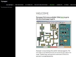 Pymapper Map Making for RPG Games