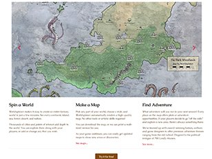 Worldspinner Fantasy map making and worlds building