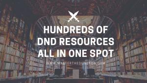 dnd resources