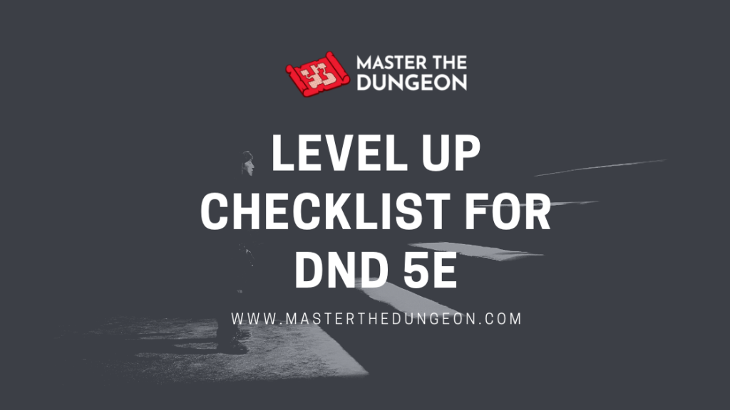 level up checklist