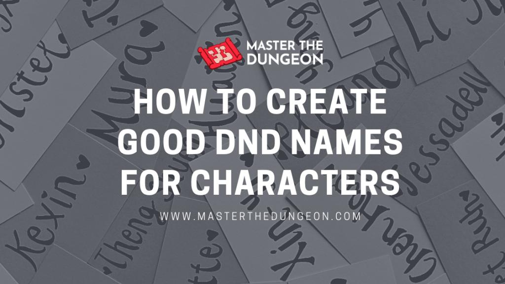 dnd names