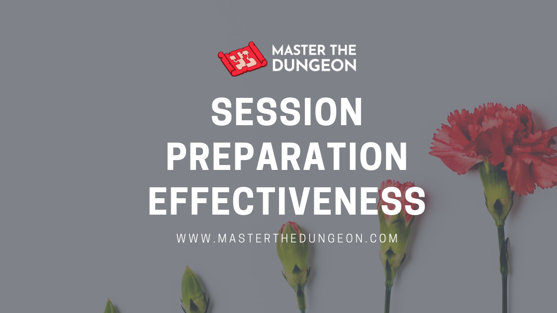 Session Preparation Effectiveness