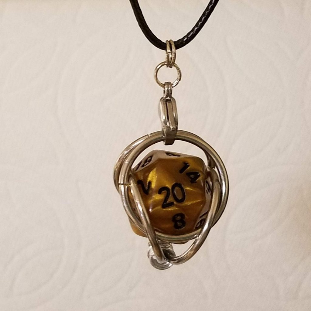 Dice Holder Necklace