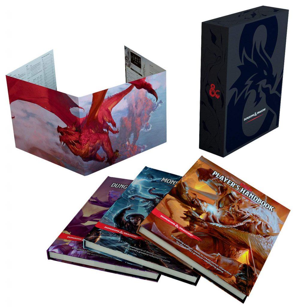 D&D Core Rule Book Gift Set 5e