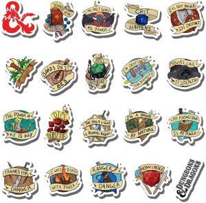 Dungeon Aesthtic Sticker Pack