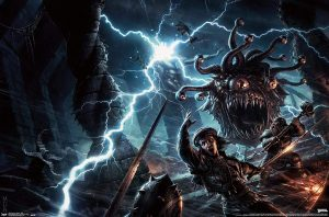 Monster Manual Cover Wall Art