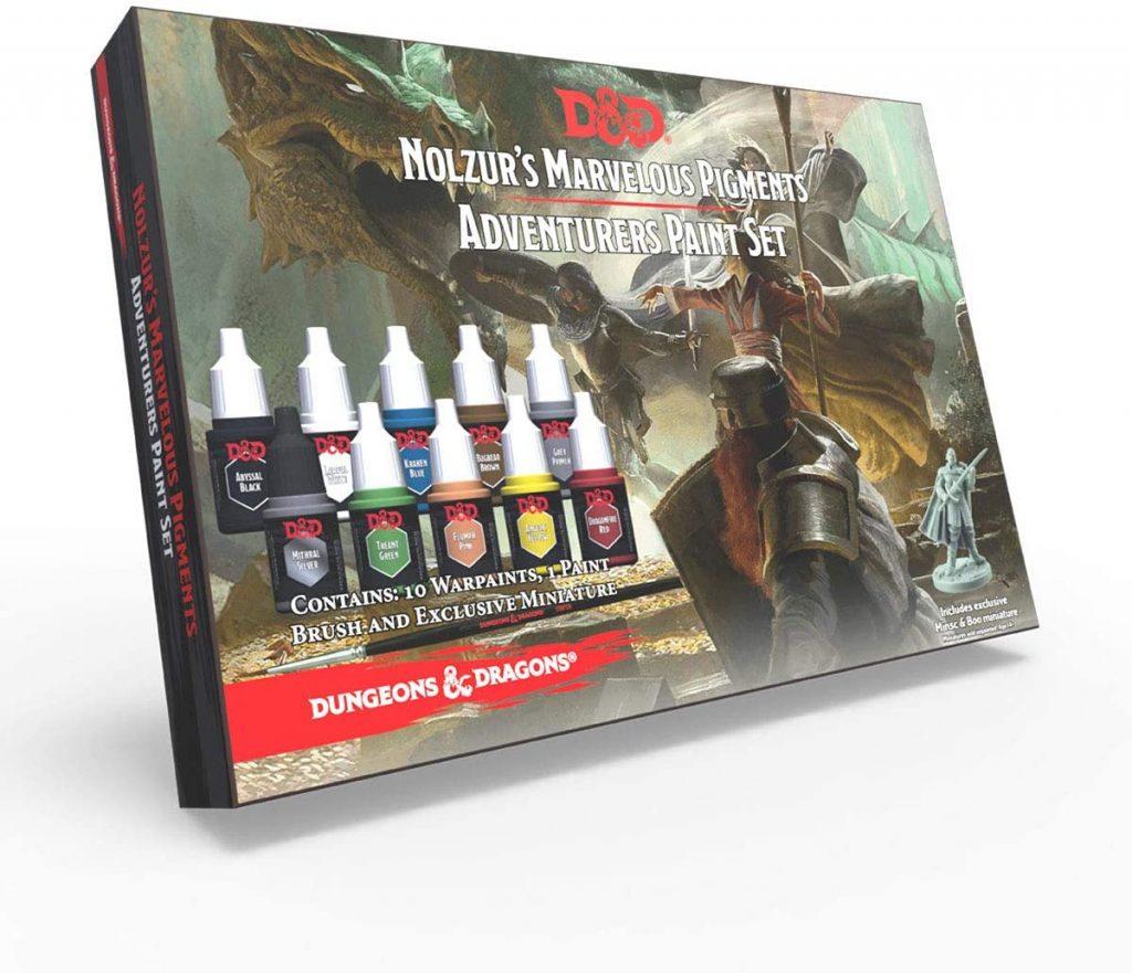 Official Dungeons & Dragons Miniature Paints