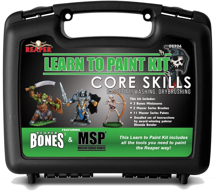 Reaper Minis Learn to Paint core skills set