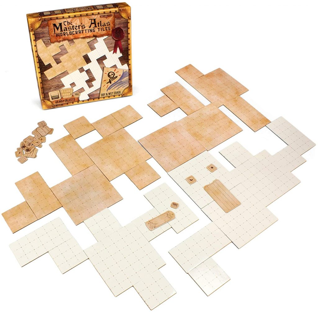 Wet and Dry Erase Dungeon Tiles