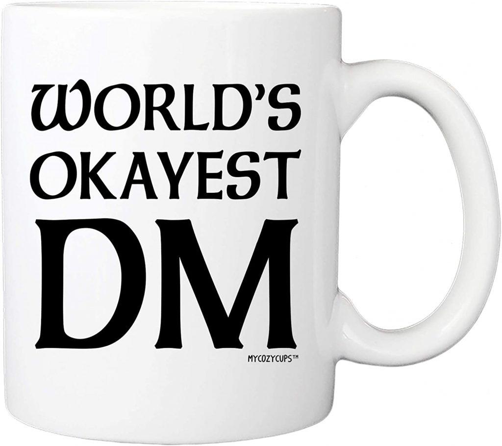 World's Okayest DM mug