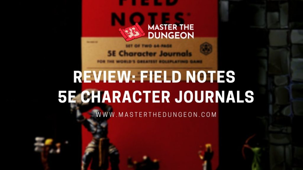 field notes 5e character journal