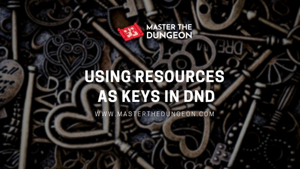 resources as keys