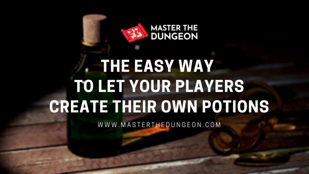 create potion