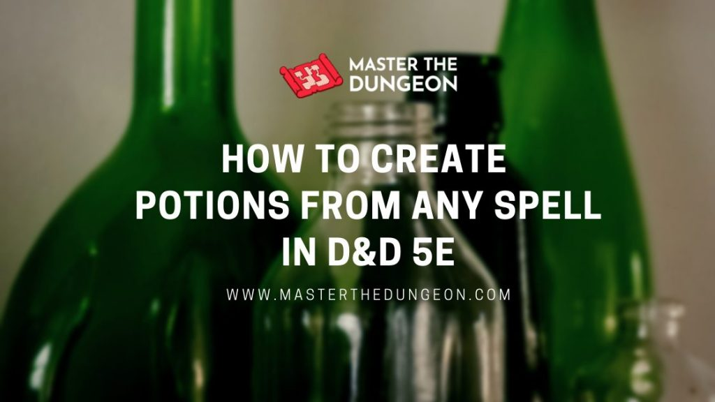 create potions