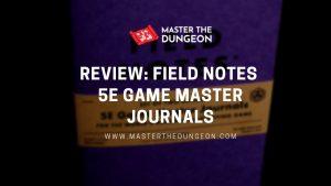 game master journals