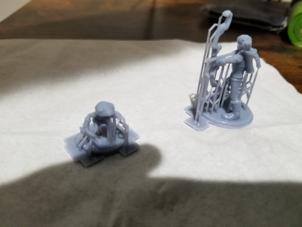 minis with supports