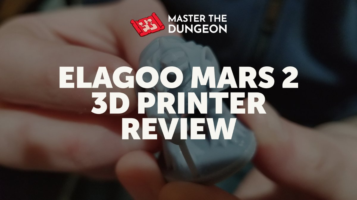 Elagoo Mars 2 Pro Review for TTRPG Mini Printing