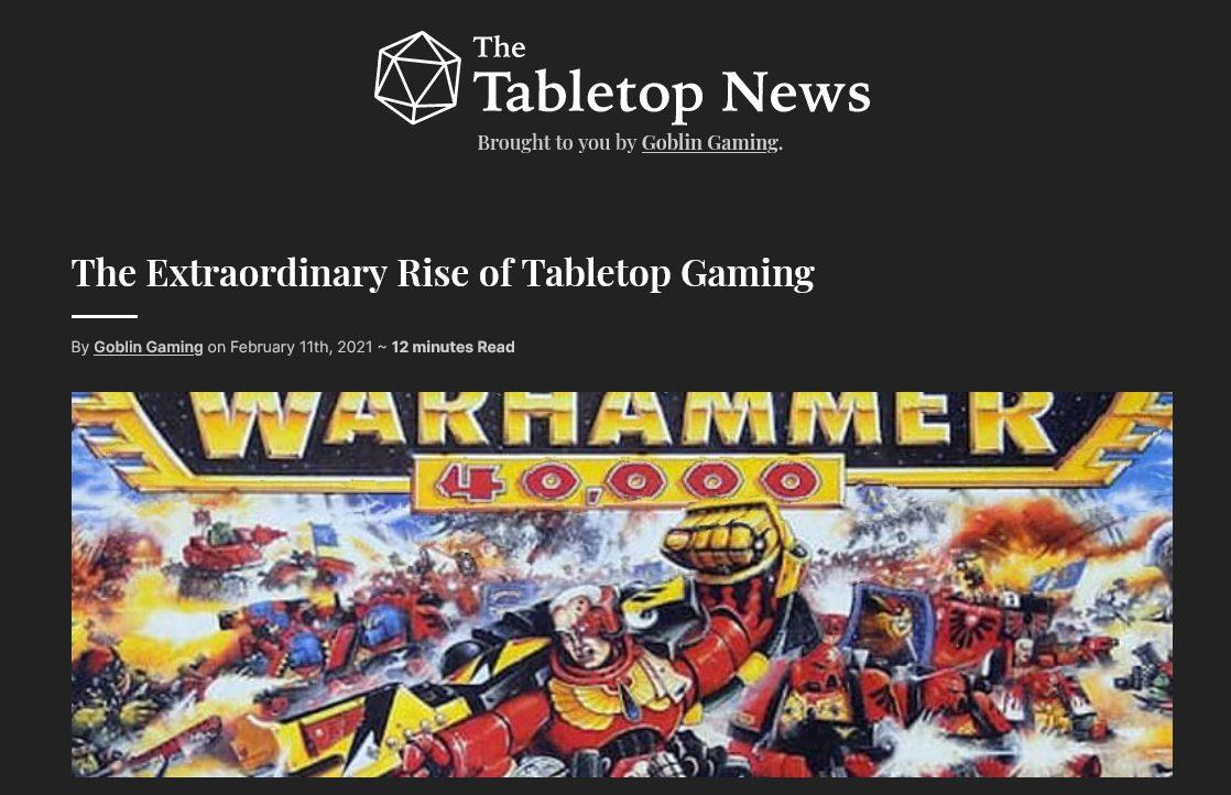 Goblin Gaming Blog