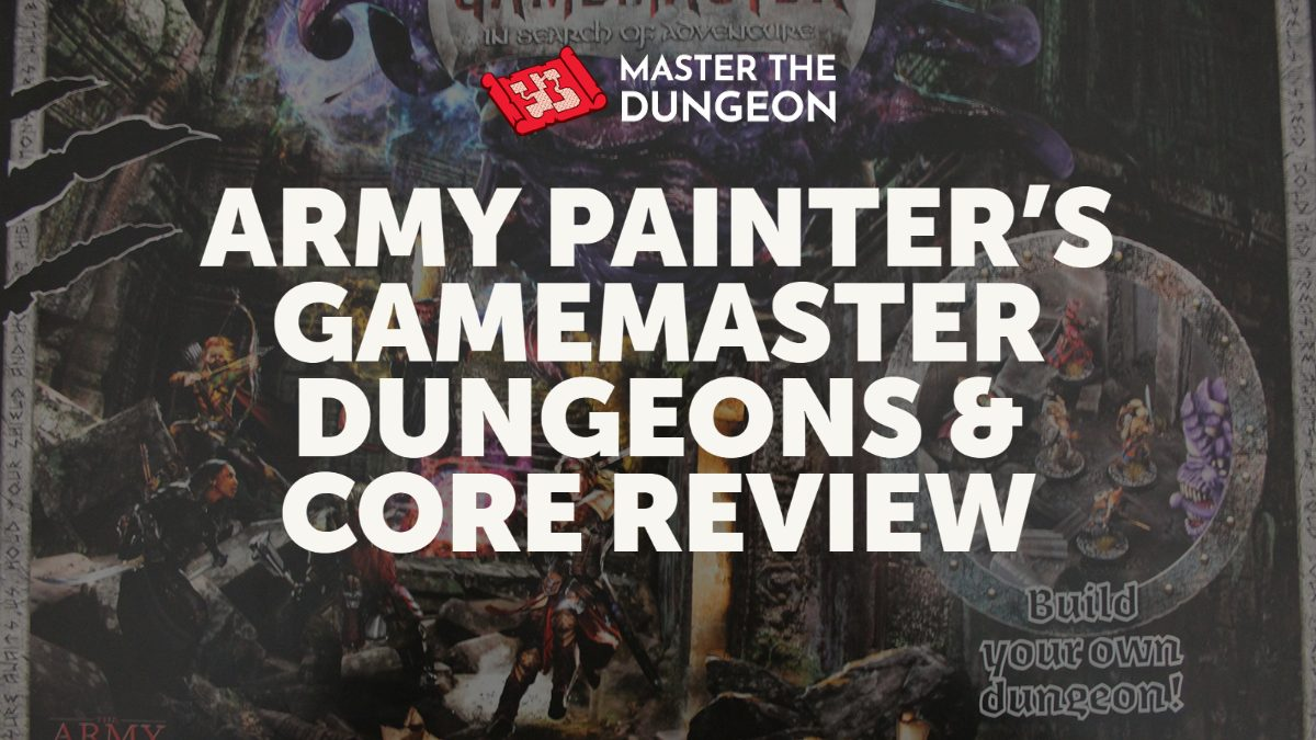 Army Painter's Gamemaster Dungeons & Caverns Set Review